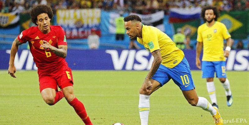 Бельгия обыграла Бразилию и вышла в полуфинал ЧМ-2018