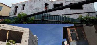 В Одессе развалился частный двухэтажный недострой
