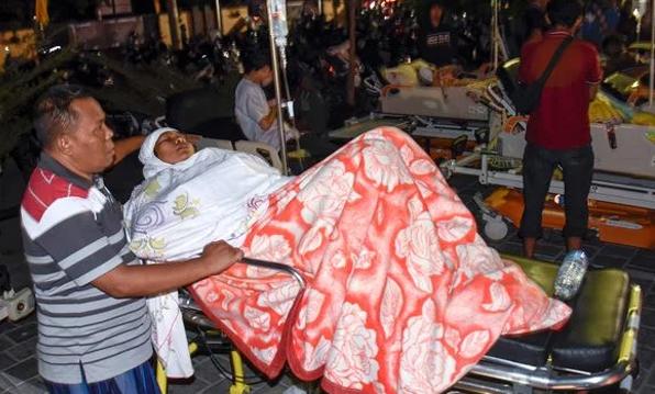 Землетрясение в Индонезии: 387 жертв