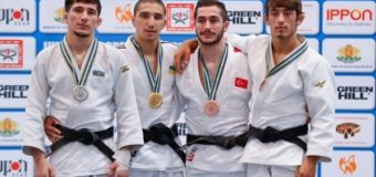 Украинские дзюдоисты завоевали две золотые медали на чемпионате Европы