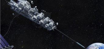 В этом месяце японцы испытают миниатюрную модель космического лифта