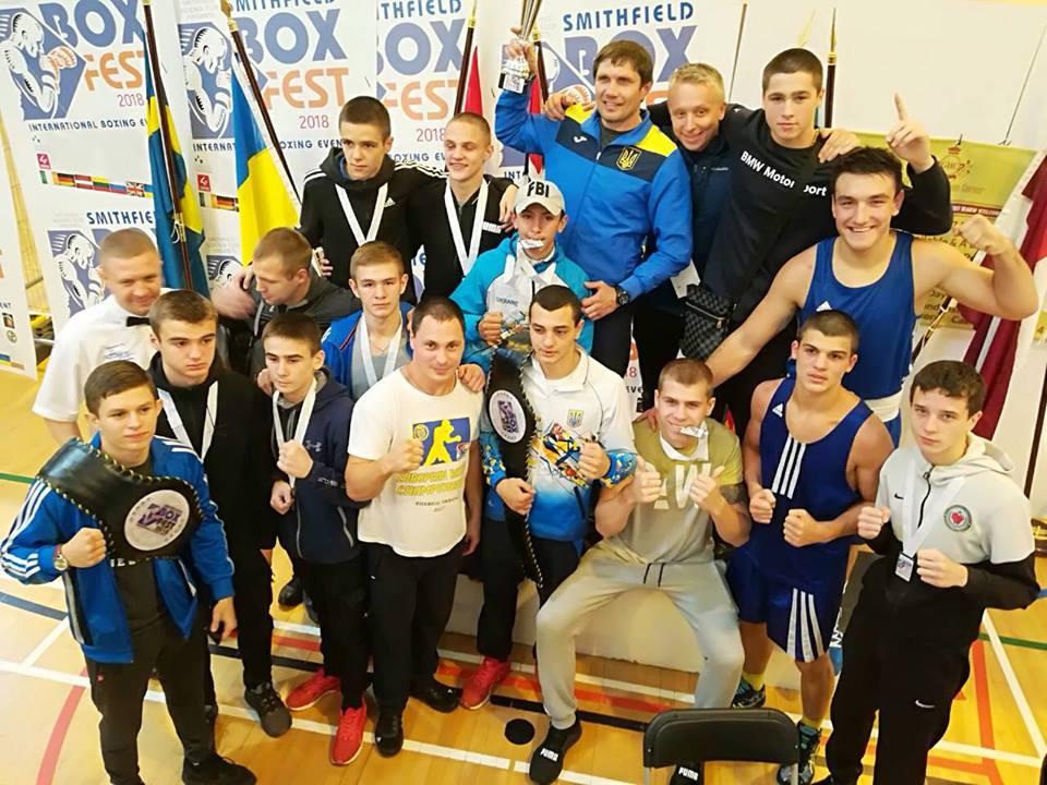 Украинские боксеры выиграли международный турнир в Ирландии. Фото