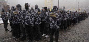 В Киеве граждане требовали введения военного положения