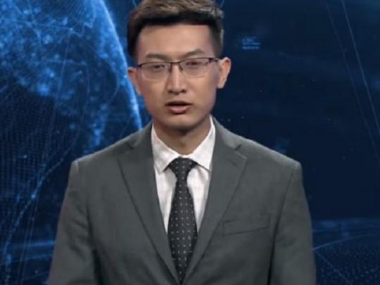 В Китае создали виртуального телеведущего. Видео