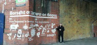 В Лондоне появилось граффити с рецептом борща. Фотофакт