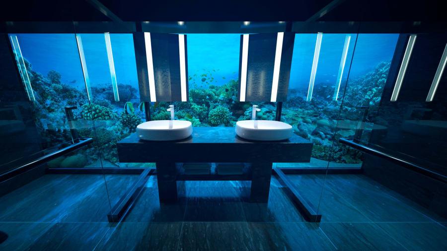 На Мальдивах открыли первую в мире подводную виллу. Фото
