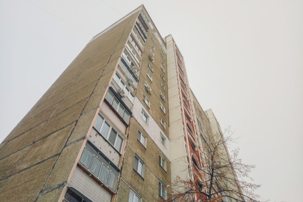 В Киеве ученый выпрыгнул с 14 этажа