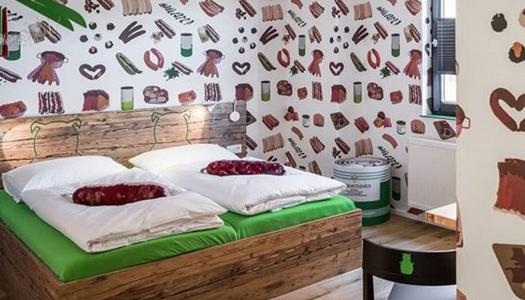 В Германии открылся отель для любителей колбасы. Фото