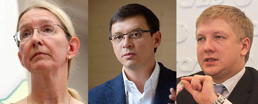 Супрун, Мураева и Коболева назвали главными предателями 2018 года
