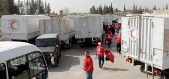 Красный Крест отправил на Донбасс 180 тонн гумпомощи