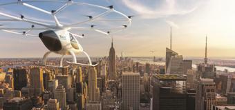 В Нью-Йорке заработало летающее такси