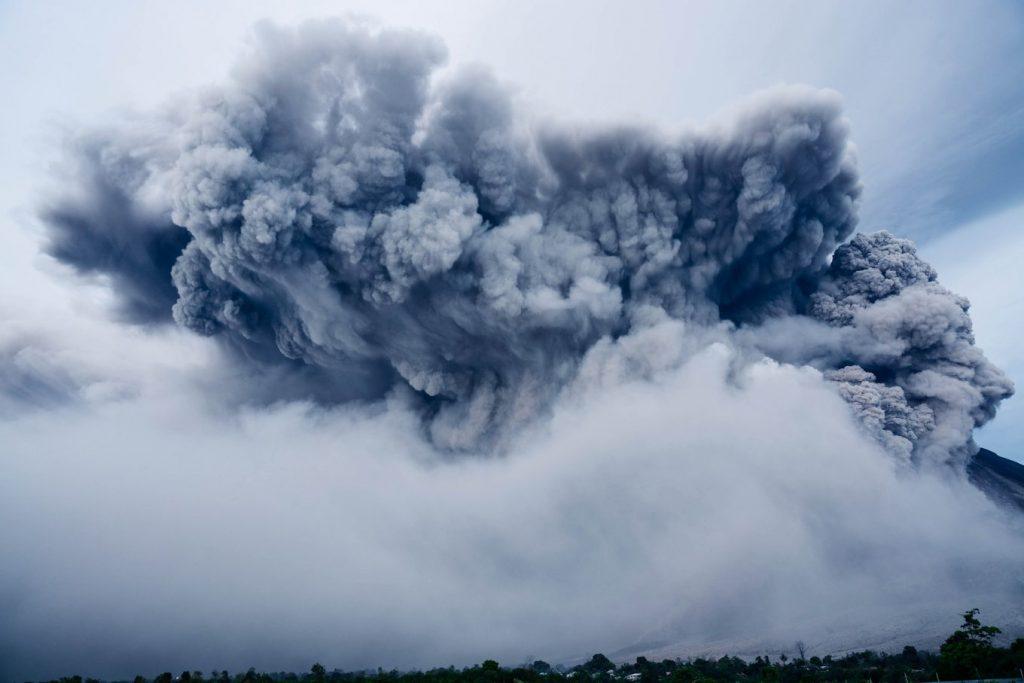 NASA предупредило о вечной зиме из-за извержения вулкана