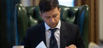Володмир Зеленський підписав перший закон