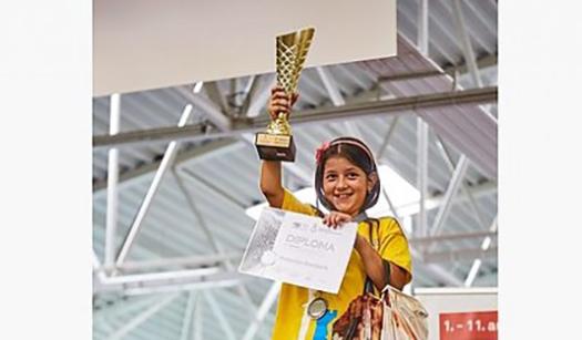 Дев'ятирічна львів'янка стала віце-чемпіонкою Європи з шахів