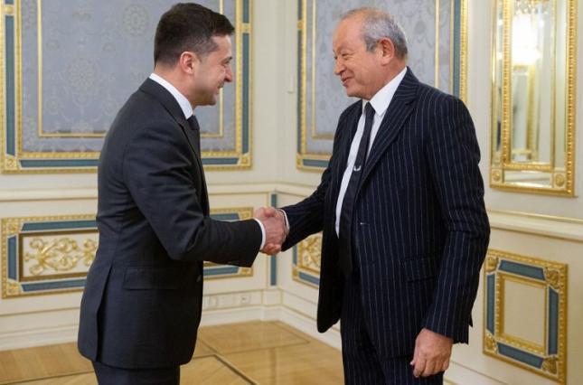 Владимир Зеленский предложил египетской компании инвестировать в Украину