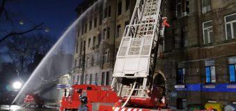 Пожар в одесском колледже: уточненные данные о пострадавших