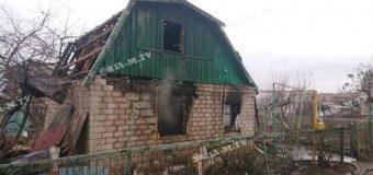 В Мелитополе взорвался частный дом. Видео