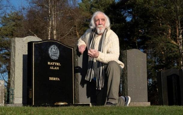 Перестали звонить друзья: мужчина нашел на кладбище свою могилу. Фото