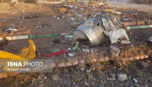 Разбившийся в Тегеране самолет могли сбить российской ракетой