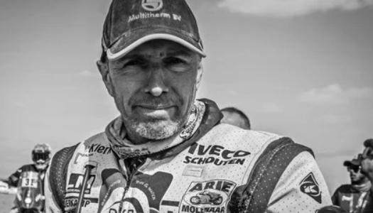48-летний мотогонщик Эдвин Стравер скончался в Нидерландах