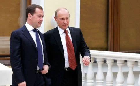 Президент РФ назначил Медведева на новую должность