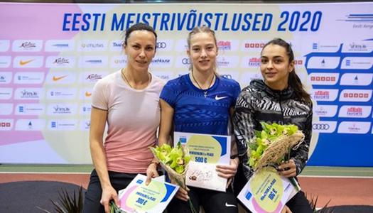 Украинские легкоатлетки завоевали три медали на международном турнире