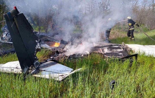 На Днепропетровщине разбился одномоторный самолет, есть жертвы