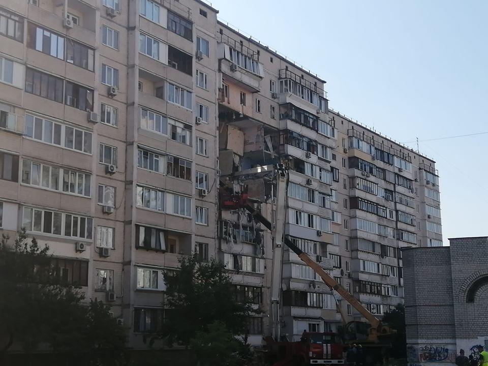 Взрыв в киевском доме: разрушены 16 квартир, есть погибшие. Фото. Видео