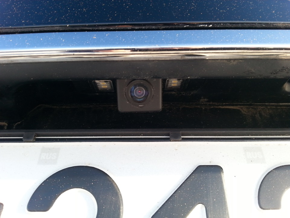 Камера заднего вида – безопасность вождения