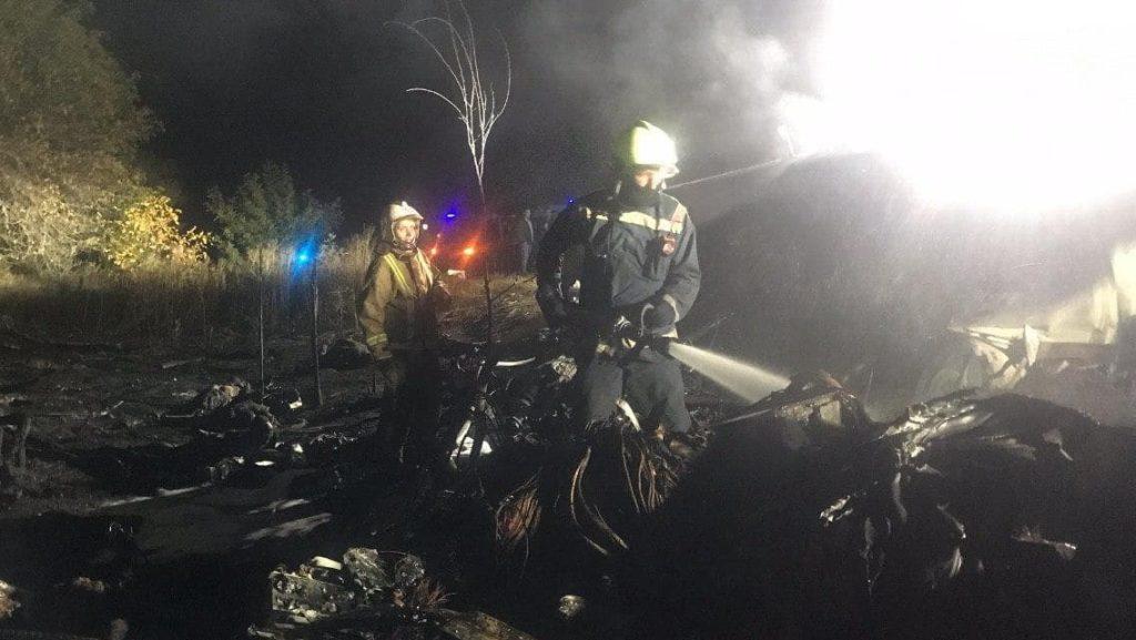 Падіння АН-26 на Харківщині: підрозділи ДСНС завершили роботи на місці