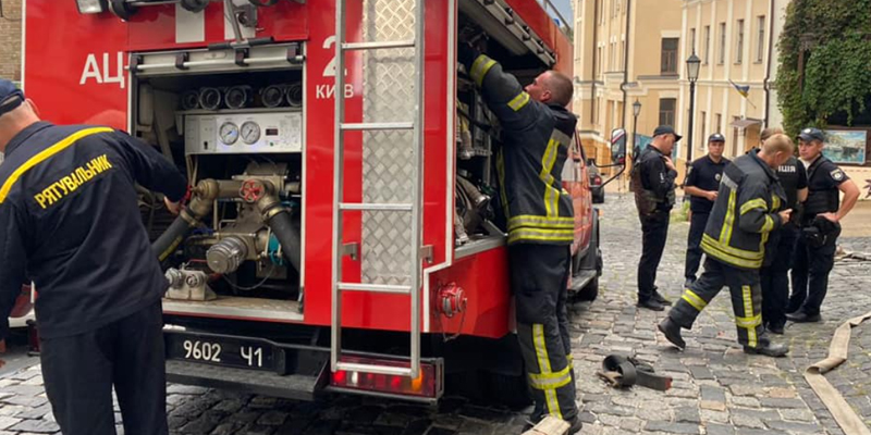 В Киеве произошел взрыв в ресторане, есть пострадавшие