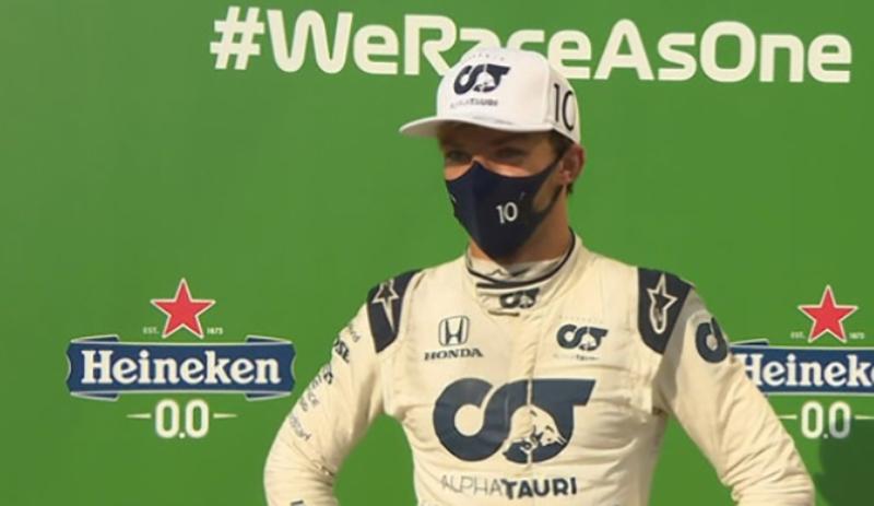 Победителем Гран-при «Формулы-1» в Италии впервые стал француз Гасли