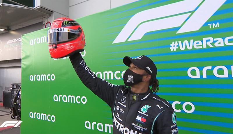F1: Льюис Хэмилтон повторил рекорд Шумахера