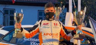 Одесский гонщик Владимир Корся занял призовое место на ралли в Эстонии