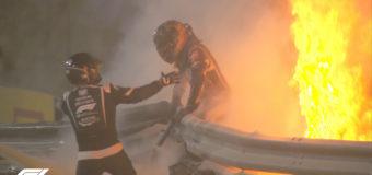 Гонщик Формулы-1 чудом выжил в страшной аварии. Фото