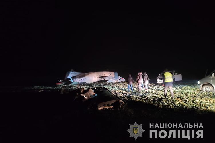 Падіння літака на Тернопільщині: у поліції розкрили причини. Відео