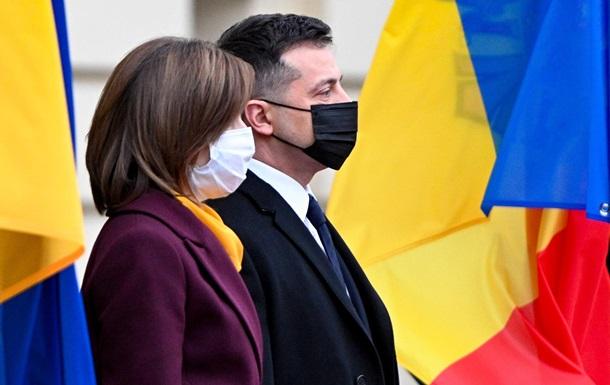 Зеленский заявил, что Санду не боится назвать Крым украинским
