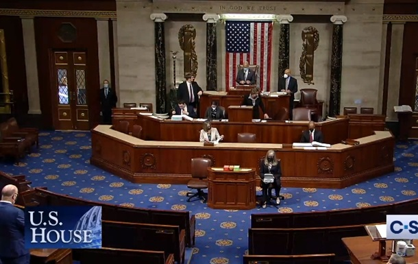 В Конгрессе США проводят дебаты по импичменту Трампу. Видео
