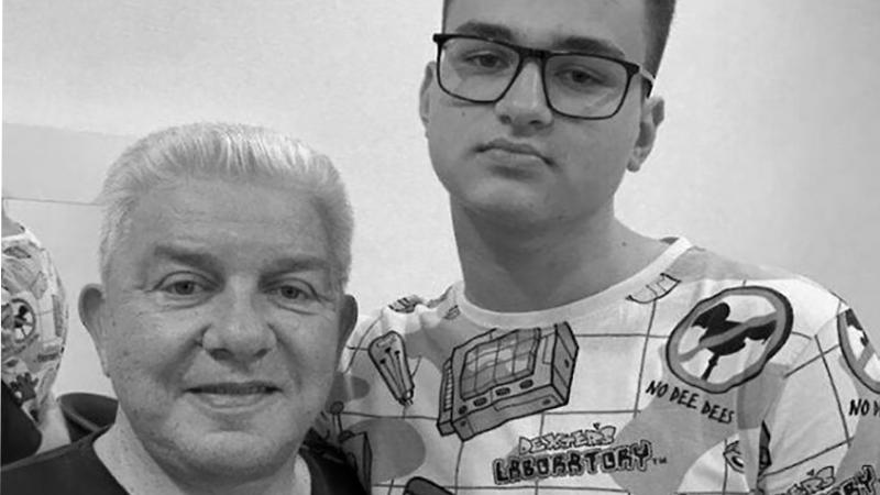 У известного украинского комика Олега Филимонова умер внук